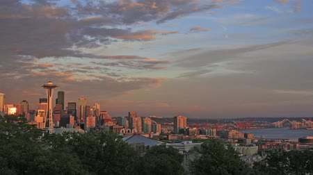 mt : Seattle Washington skyline view