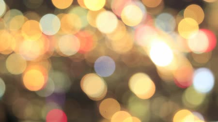 bulanık : Colorful Out of Focus Blurred Bokeh Background Time Lapse 1920x1080 Stok Video