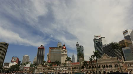 abdul : Sultan Abdul Samad Building in Kuala Lumpur from Merdeka Square in Malaysia Time Lapse 1920x1080