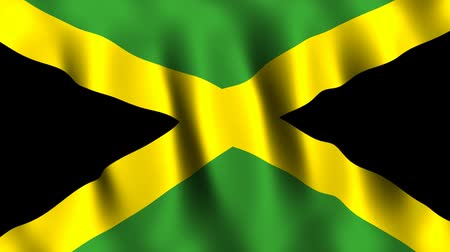 jamaica : Jamaica Animated Flag