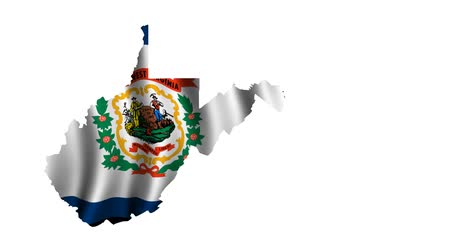 occidente : West Virginia Flag Animated