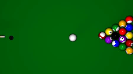 poolbiljart : Billiard Animatie