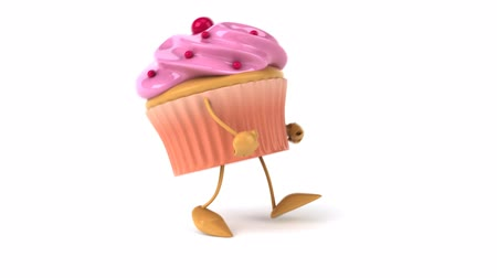 queque : animated hiphop cupcake character
