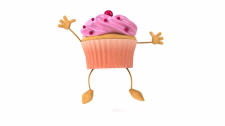 queque : Strawberry Frosted cupcake character Vídeos