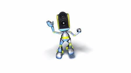 robot : animated dancing robot
