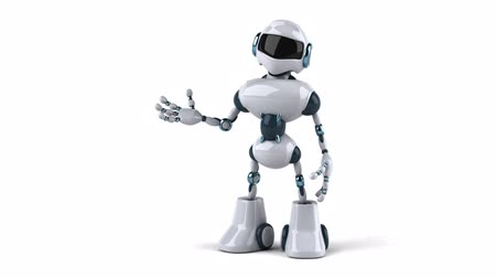 animated robot