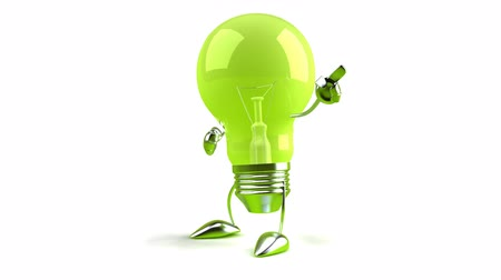 criar : green light bulb pointing in the air