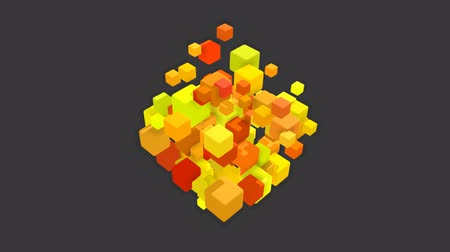 kocka : Cubes in motion