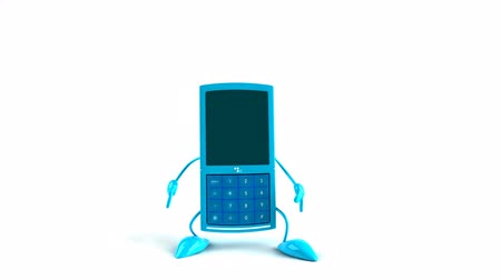 ура : 3D mobile phone character jumping