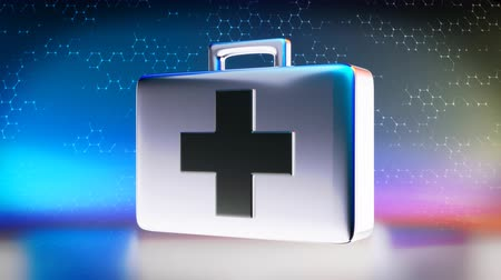 first aid kit : First aid kit icon concept