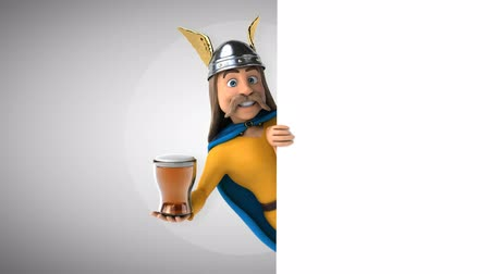 kelt : Cartoon gaul character with a beer