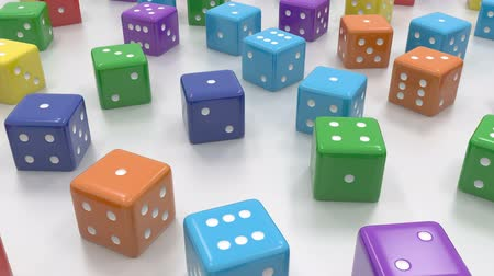 statistic : Random color dice