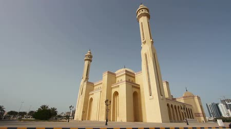 минарет : Bahrain Al Fateh Grand Mosque