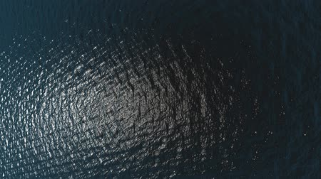 manzaraları : Aerial view of ocean waves