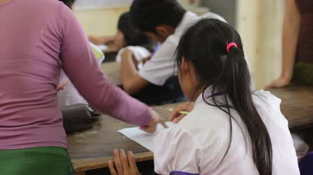 unicef : students in NGO orphanage school in cambodia