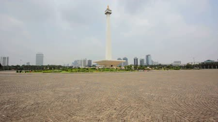 historical building : national monument, jakarta, indonesia