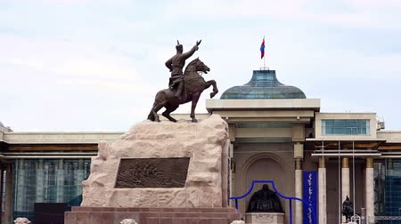 heroes square : View of Sukhbaatar Square, Ulaanbaatar, Mongolia