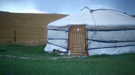 gép : Mongolian Yurt in outskirts of Central Mongolia