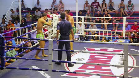 harc : PHUKET, THAILAND - JUNE 2014: Muay Thai box matches