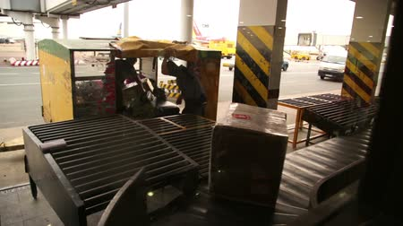 reclaim : SAIGON, VIETNAM - MAY 2014: baggage claim at airport