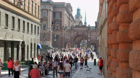 estocolmo : STOCKHOLM - SWEDEN, AUGUST 2015: old city view