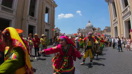 латинский : VATICAN CITY, AUGUST 2015: latin festival view
