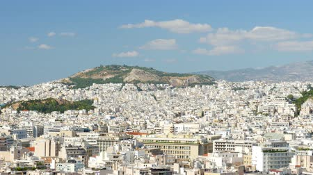 europe population : Apartments in Downtown Athens, Greece, 4k