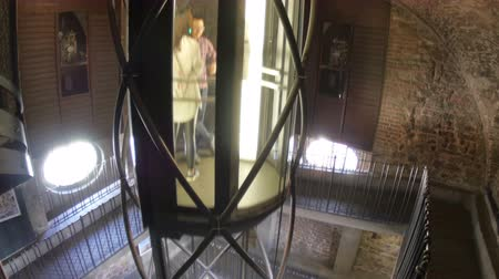 cseh : PRAGUE - CZECH REPUBLIC, AUGUST 2015: astronomical tower inside