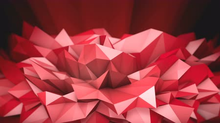 Red Polygonal Shape