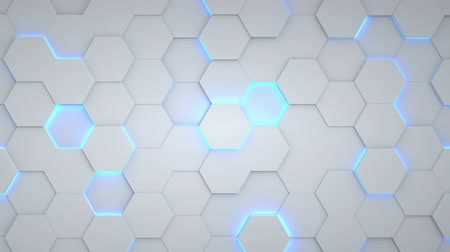 Abstract Hexagon Geometric Surface Loop