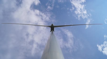 Wind Turbine from bottom view