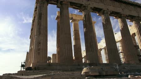 deterioration : Acropolis in Athens, Greece