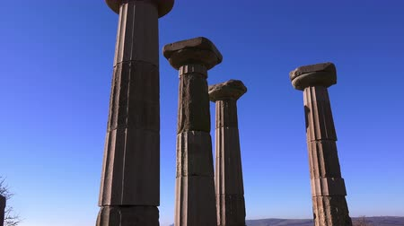 акрополь : Assos, ruins of ancient city, Behramkale, Turkey