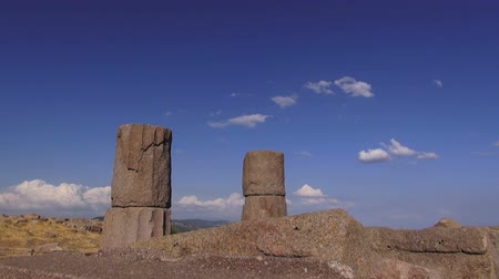 The ruins of the ancient city of Assos, 04.09.2014, Turkey, Behramkale