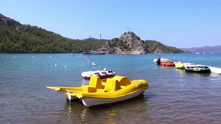 Эгейский : View of beach Kizkumu, Turkey, Marmaris