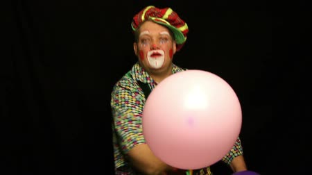 palhaço : Clown and balloon