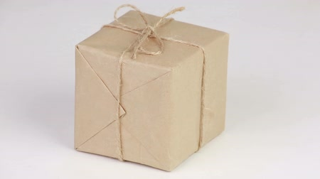 kutu : Box covered with wrapping paper