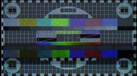 Flickering analog TV Test Pattern Dostupné videozáznamy