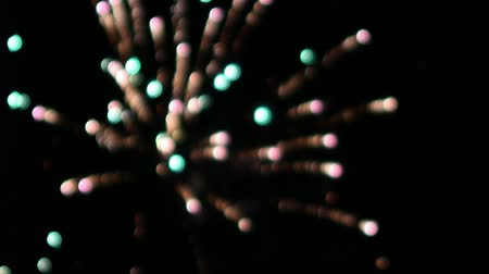 Bokeh fireworks backgraund