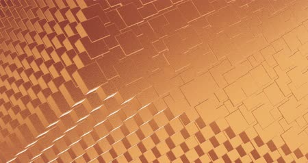 alaşım : Abstract geometric rose golden backgroundfoil tiles texture seamless loop background 3D rendering