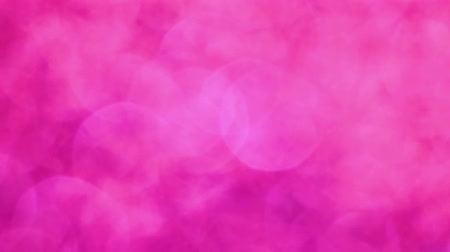 боке : Pink Glamour magical bokeh lights background. Full HD video.
