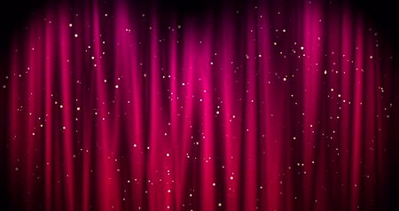 panejamento : Red Merry Christmas background with golden stars. Walpaper Valentines day. seamless loop
