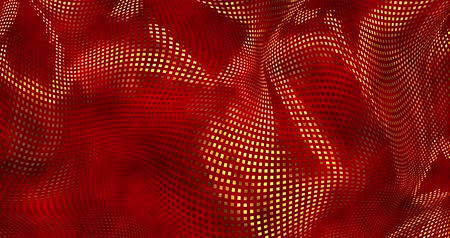 veludo : Red sparkly satin background. Glamour satin texture 3D rendering loop 4k.