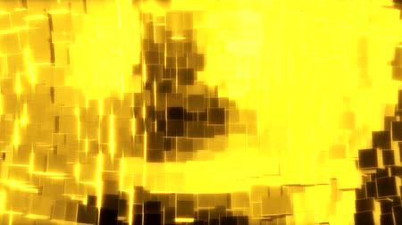 lom světla : Abstract geometric golden background foil tiles texture seamless loop background. Digital 3d surface. Motion graphic. Dostupné videozáznamy