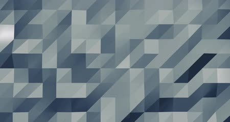 wizualizacja : Abstract grey 3D geometric pattern. Mosaic metall background for business presentation.