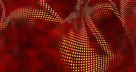 szövetek : Red sparkly satin background. Glamour satin texture 3D rendering loop 4k.