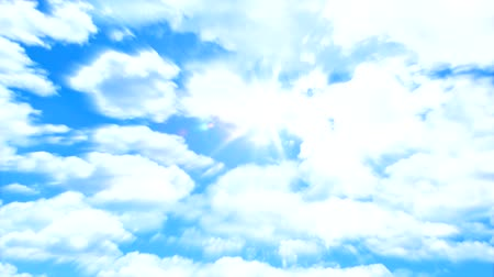 質地 : Sky and sun with radial blur effect