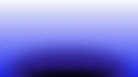snows : flying particles in the space with blue gradation background
