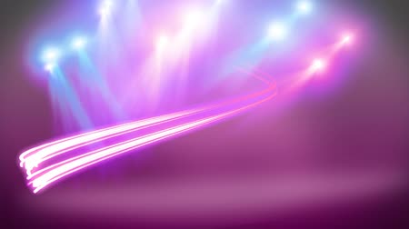 break dance : disco light with purple background Stock Footage