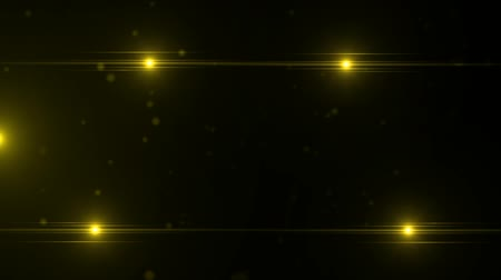 papel de parede : yellow flare with particles